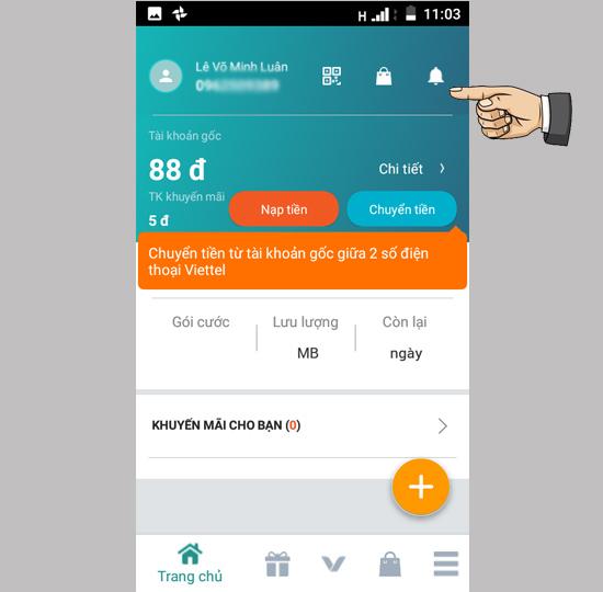 bổ sung thông tin chính chủ SIM Viettel