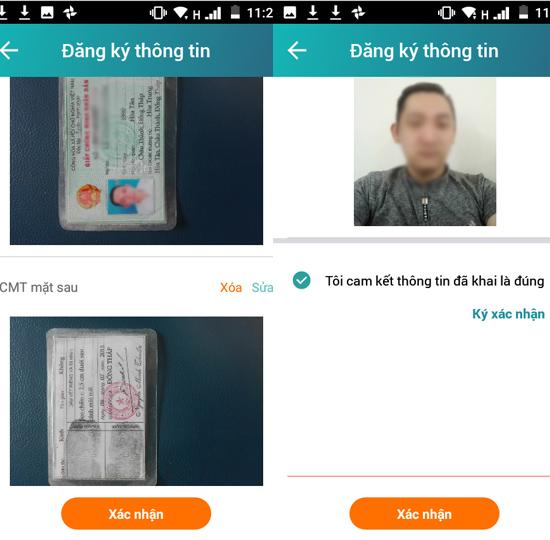 bổ sung thông tin chính chủ SIM Viettel 5
