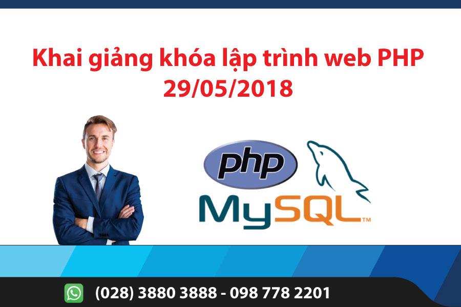 Khai giảng khóa lập trình web PHP