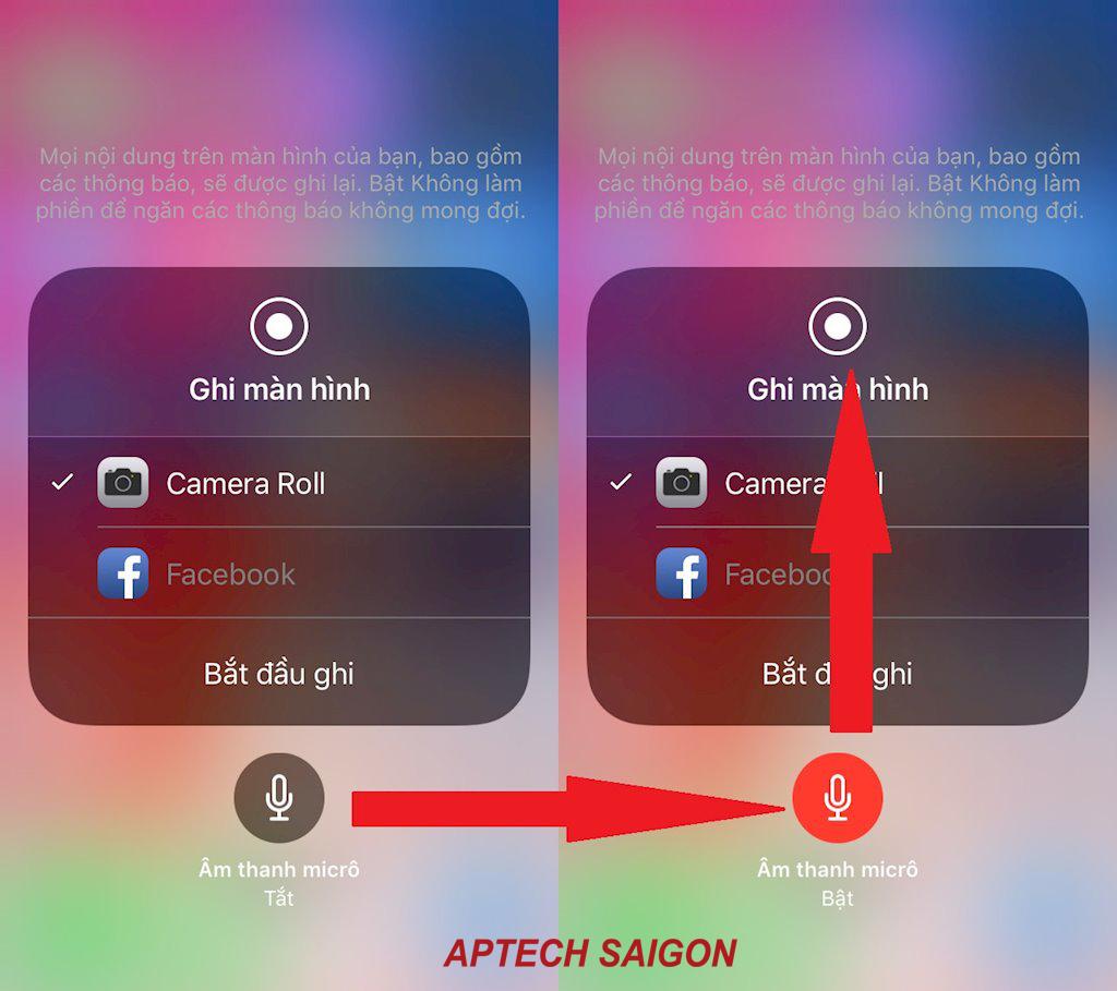 quay video màn hình iphone 4
