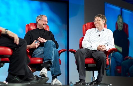 Phỏng vấn Bill Gates và Steve Jobs