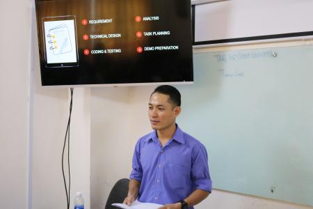 Buổi Workshop Project Planning tại Aptech Saigon
