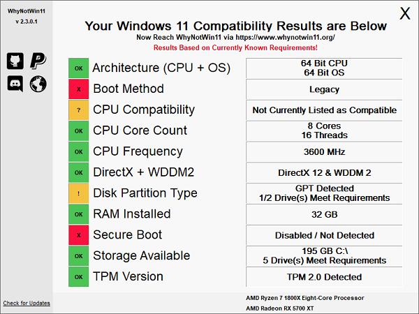 kiểm tra nhanh máy tính của bạn có chạy được Windows 11 (3)